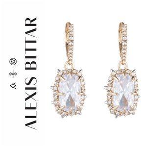 Alexis Bittar Framed Cushion Drop Earrings NWOT